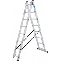 Двураменна алуминиева стълба KRAUSE CORDA 2x08