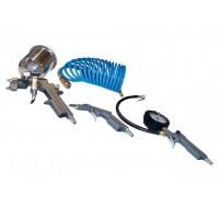 Пневматични инструменти комплект 4 части GUDE 84092