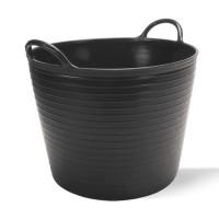 Пластмасова черна кофа RUBI 25 литра