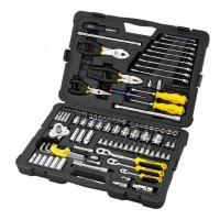 Комплект ръчни инструменти STANLEY 125 части
