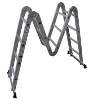 Сгъваема многофункционална стълба ARON 2x4 и 2x3