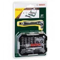 Комплект BOSCH ръчна отвертка, битове и тресчотка