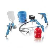 Комплект пневматични инструменти ERBA - 5 части