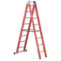 Професионална стълба фибростъкло Svelt V2 - 2x10 стъпала