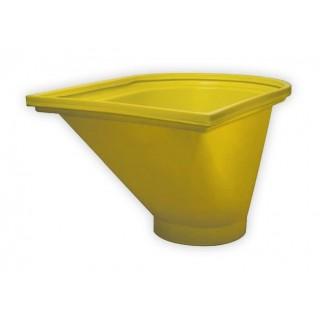 Начален улей за насипни отпадъци Tecknoplast 650 mm