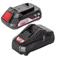 Комплект батерия и зарядно RAIDER RDP-R20