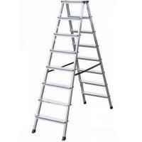 Двустранна алуминиева стълба KRAUSE DOPLO 2x8