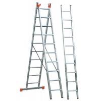 Трираменна алуминиева стълба KRAUSE Tribilo 3x10
