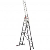 Трираменна алуминиева стълба KRAUSE Tribilo 3x14