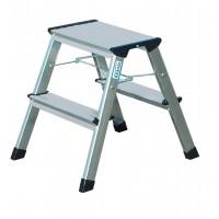 Двустранна алуминиева стълба KRAUSE TREPPY 2x2