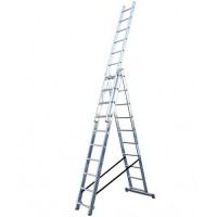 Трираменна алуминиева стълба KRAUSE CORDA 3x10