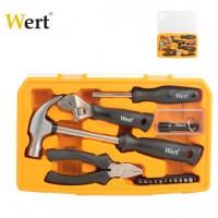 Комплект инструменти WERT - 17 части