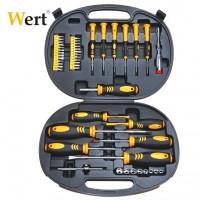 Комплект ръчни инструменти WERT - 49 броя