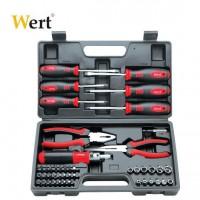 Комплект инструменти WERT - 45 части