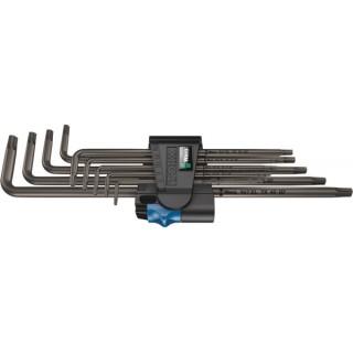 Комплект L-образни ключове Torx WERA 967/9 XL HF1 - 9 броя
